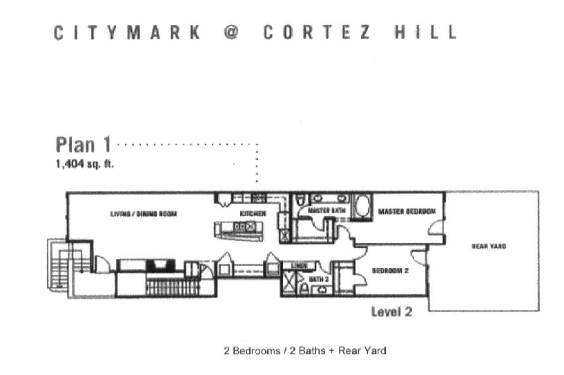 City Mark Floor Plan 1