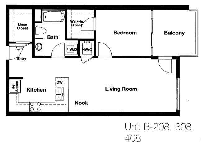 Nexus Floor Plan B2