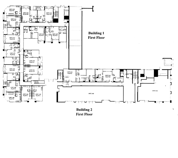 Park Blvd Floor Plan - 1st Floor