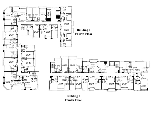 Park Blvd Floor Plan - 4th Floor