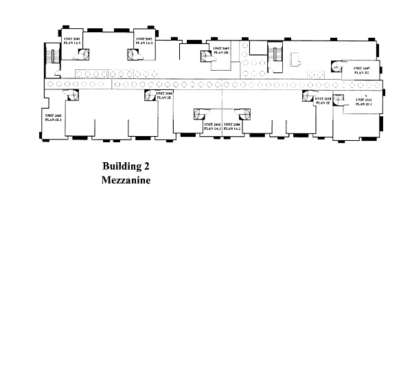 Park Blvd Floor Plan – Mezzanine