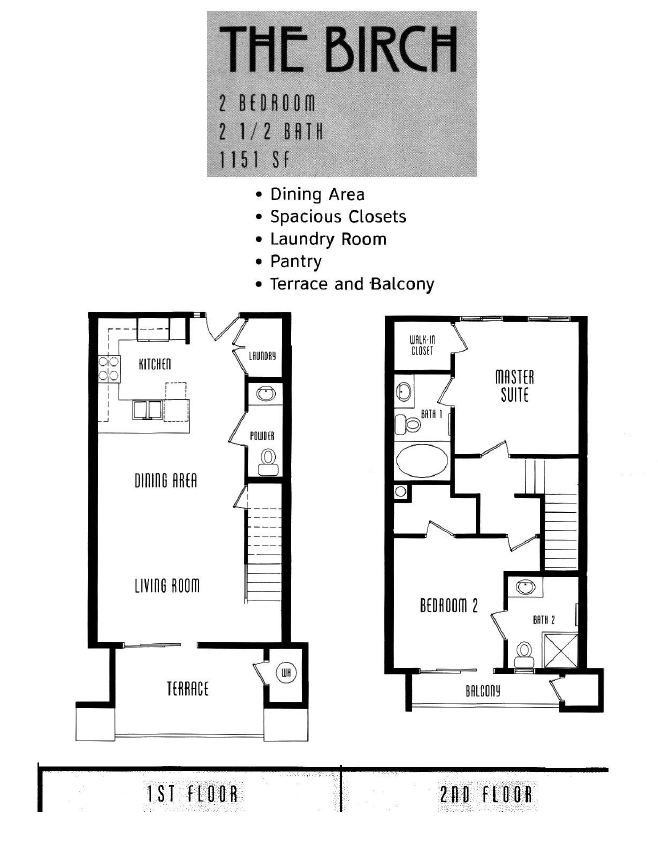 The Lodge Floor Plan The Birch