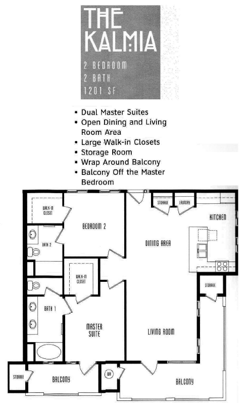 The Lodge Floor Plan The Kalmia