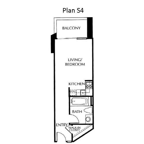 The Mills Floor Plan S4