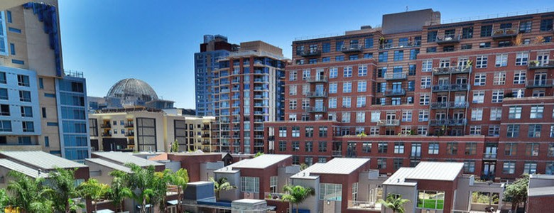 Downtown San Diego - Balcony View